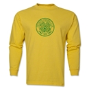 Celtic Distressed LS T-Shirt (Yellow)