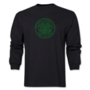 Celtic Distressed LS T-Shirt (Black)