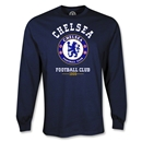 Chelsea LS Football Club T-Shirt (Navy)