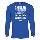 Chelsea 2012 FA Cup Winners LS T-Shirt (Royal)