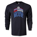 Chelsea Red White and Blue LS T-Shirt (Black)