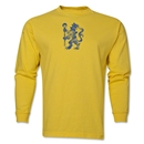 Chelsea Distressed Lion LS T-Shirt (Yellow)
