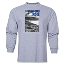 Chelsea Stamford Bridge Photo B/W LS T-Shirt (Grey)