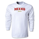 CONCACAF Gold Cup 2013 LS Mexico T-Shirt (White)