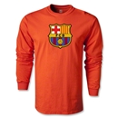 Barcelona Core LS T-Shirt (Orange)