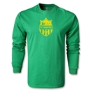 FC Nantes Distressed Crest LS T-Shirt (Green)