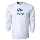 France FFF LS T-Shirt (White)