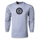 Jaguares de Chiapas Distressed LS T-Shirt (Gray)