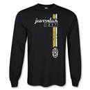 Juventus 1897 Stripe LS T-Shirt (Black)