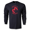 Morelia Monarcas Distressed Property LS T-Shirt (Black)