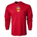 Morelia Monarcas Logo LS T-Shirt (Red)