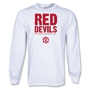 Manchester United LS Red Devils T-Shirt (White)