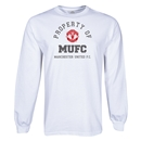 Manchester United Property of MUFC LS T-Shirt (White)