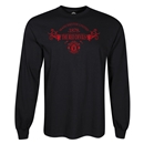 Manchester United Red Devils LS T-Shirt (Black)