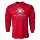 NSCAA LS T-Shirt (Red)