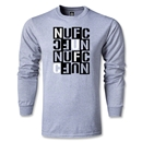 Newcastle United Letter Block LS T-Shirt (Gray)