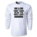 Newcastle United Toon LS T-Shirt (White)