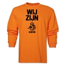 Netherlands We Are LS T-Shirt (Orange)