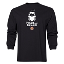 FC Santa Claus Fear the Beard Men's LS T-Shirt (Black)