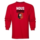 Stade Rennais FC We Are LS T-Shirt (Red)