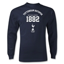 Tottenham Hotspurs Established 1882 LS T-Shirt (Navy)
