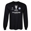 Chelsea 2012 Champions of Europe LS T-Shirt (Black)