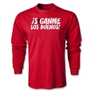 Chapulin Los Buenos LS T-Shirt (Red)
