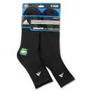 adidas 6-pack Mid Crew Sock (Black)