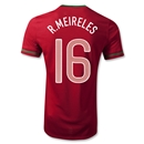 Portugal 12/14 MEIRELES Authentic Home Soccer Jersey
