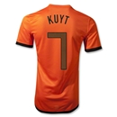 Netherlands 12/14 KUYT Authentic Home Soccer Jersey