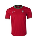 Portugal 12/14 Youth Home Soccer Jersey