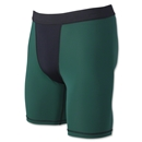 Svforza Men's Two-Tone Compression Short-9 Inseam (Dg/Bl)