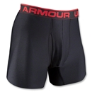 Under Armour 6 Inch Boxer Jock (Black)