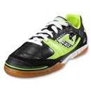 Joma Sala Max Indoor Soccer Shoes (Black/Citron/White)