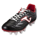 Joma Fit 100 FG Soccer Shoes (Black/White/Red)