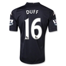 Fulham 12/13 DUFF Authentic Third Soccer Jersey