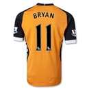 Fulham 12/13 BRYAN Authentic Away Soccer Jersey