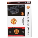 Manchester United 11 x 17 Ultra Decal