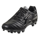 Concord Techno Microfiber Soccer Shoes (Black/Black)