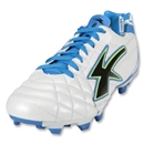 Concord Aston Microfiber Soccer Shoes (White/Blue/Black)