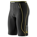 SKINS A200 Compression Half Tight (Black/Yellow)