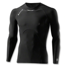 Skins A400 Long Sleeve Top (Blk/Grey)
