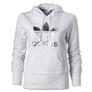 adidas Originals Women's adi TechFit Hoody (White/Gray)