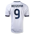 Real Madrid 12/13 BENZEMA Home Soccer Jersey