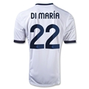 Real Madrid 12/13 DI MARIA Home Soccer Jersey