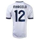 Real Madrid 12/13 MARCELO Home Soccer Jersey