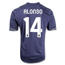 Real Madrid 12/13 ALONSO Away Soccer Jersey