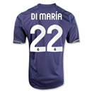Real Madrid 12/13 DI MARIA Away Soccer Jersey