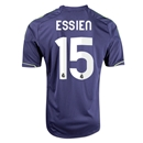 Real Madrid 12/13 ESSIEN Away Soccer Jersey