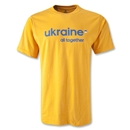 Ukraine All Together T-Shirt (Gold)